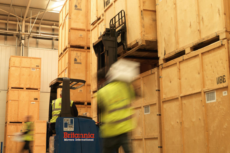 Guardamuebles sistema container