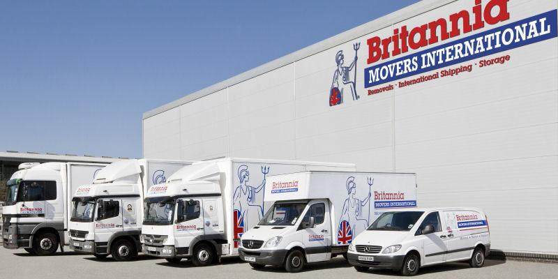 Camiones y Furgonetas de Britannia