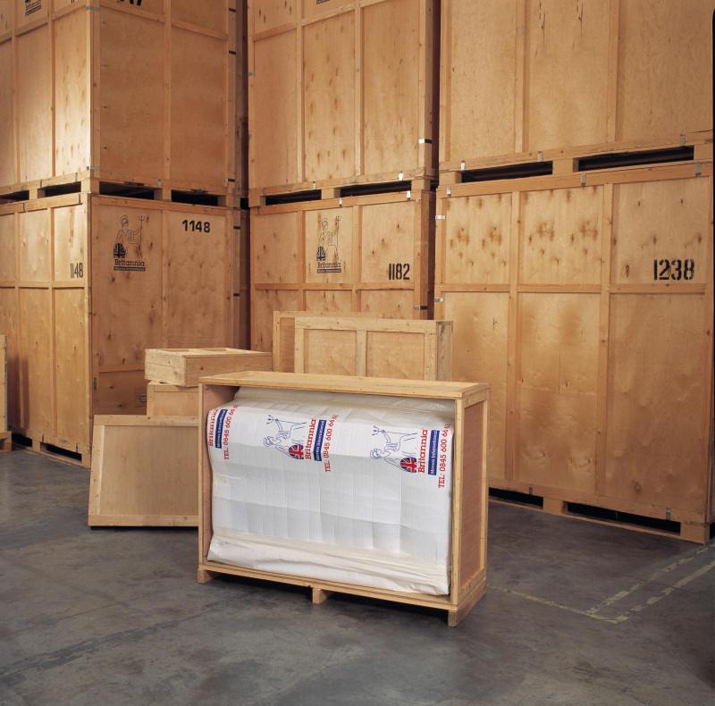 Caja de madera - Mudanzas Britania SL